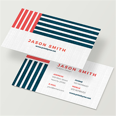 Linen Business Card