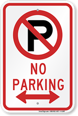 Aluminum Signs (Parking Signs)
