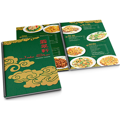 Green Jade Menu