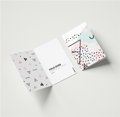 Fold-Over Business Card