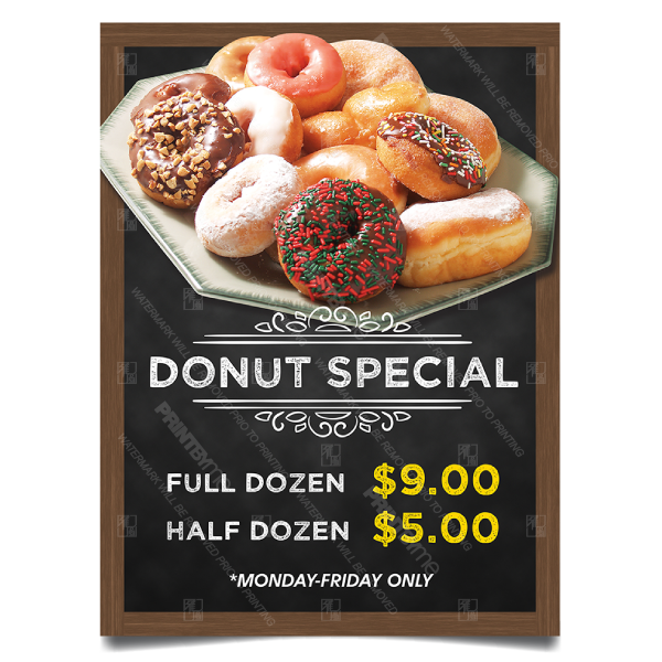 DN-060 Donut Special Poster
