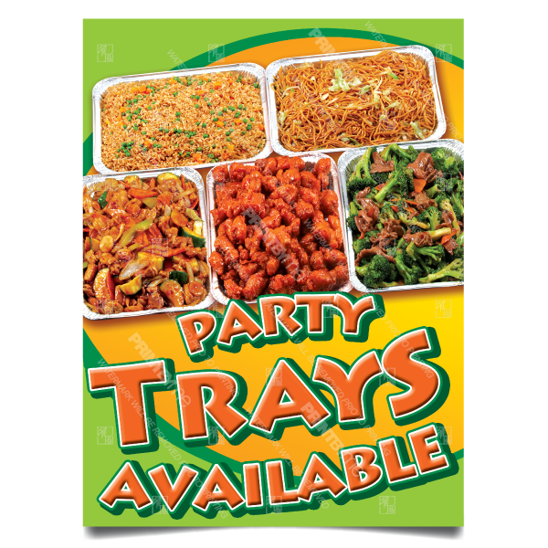 mc002 party trays postersouth el monte california