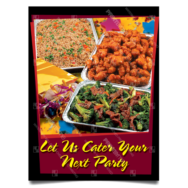mc004 party trays poster